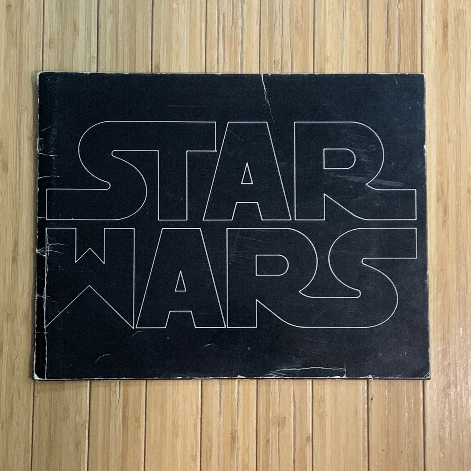 Star Wars 1977 Original Pressbook, Deluxe Exhibitors