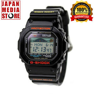 Casio-G-SHOCK-G-LIDE-GWX-5600-1JF-Tough-Solar-Radio-Watch-Tide-Graph-GWX-5600-1