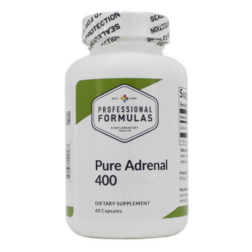 Pure Adrenal 400 - 60 Caps - Fresh & Free Shipping