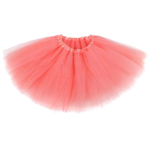 Flower Girl Soft Tulle Ballet Tutu Princess Dress Up Dance Wear Costume Party