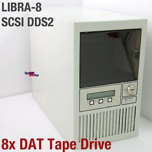 LIBRA-8-SCSI-8x-Dat-Tape-Drive-Mecanismo-Streamer-Unidad-de-Cinta-Sony-SDT-5000