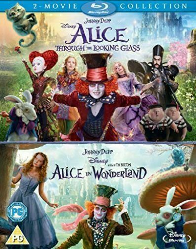 Alice In Wonderland Alice Through The Looking Glass Regions 1 2 3 Blu Ray For Sale Online Ebay