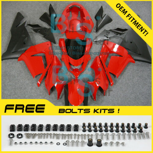 Fairings Bodywork Bolts Screws Set Fit Kawasaki Ninja ZX10R 2004-2005 16 E3