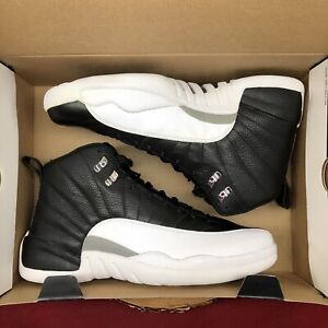 timeless design 5cb16 9315b Details about Nike Air Jordan Retro XII Black White 130690 001 Size 12  Playoff Taxi XI XII XIV