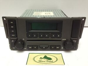 Details about LAND ROVER RADIO SINGLE CD PLAYER MP3 STEREO LR3 05-07  VUX500430 OEM REMANUF