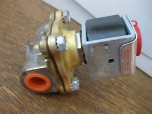 ASCO-Redhat-Electric-Actuated-Solenoid-Valve-24VDC-3-8-034-NPT-PS821001-Made-in-USA