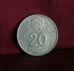 Details about Hungary 20 Forint 1984 Copper Nickel World Coin Gyorgy Dozsa