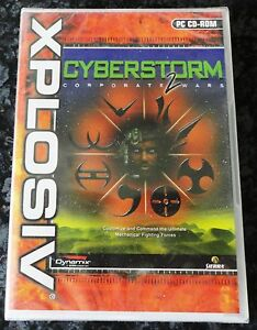 CYBERSTORM-2-CORPORATE-WARS-PC-CD-ROM-STRATEGY-GAME-brand-new-sealed-UK