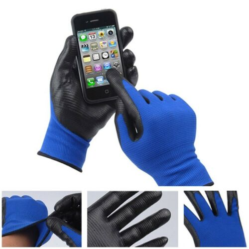 1Pairs NEW Nitrile Rubber Foam Fit U3 WORK GLOVES Available Electrostatic Touch