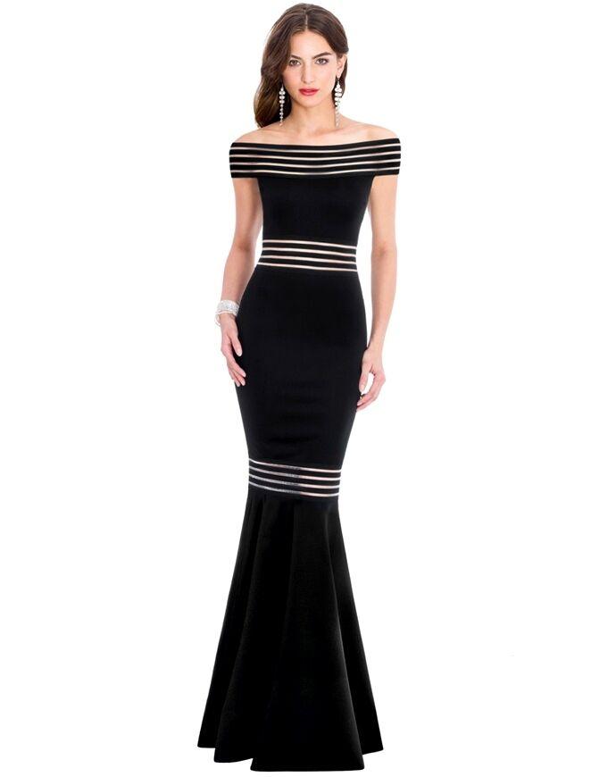 Suzanjas Evening Dress Carmen Dress,SIZE M - L 38 - 40 Full-Length