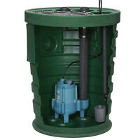Little Giant 9sf3v2d - Pit Plus® Sr. 4/10 Hp Premium Simplex Sewage Syste...