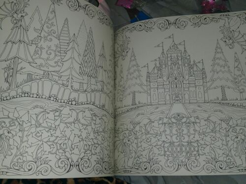Enchanted Forest An Inky Quest And Coloring Book By Johanna Basford 2015 Paperback