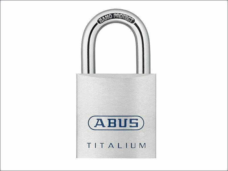 ABUS Mechanical - Candado 80TI   40mm TITALIUM ™ con llave igual KA8012