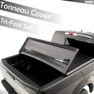 Tundra Bed Cover >> Details About 2007 2019 Toyota Tundra 6 5 Ft Bed Cover Tri Fold Lock Tonneau Cover Assembly