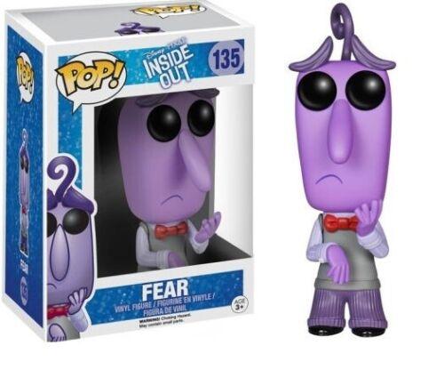 DISNEY PIXAR INSIDE OUT FEAR VINYL FIGUR IN BOX #135 NEU OVP FUNKO POP