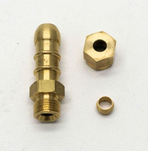 Británicos hicieron 3//16 Montaje De Compresión Para LPG Fulham boquilla para Manguera 8mm I//d 6