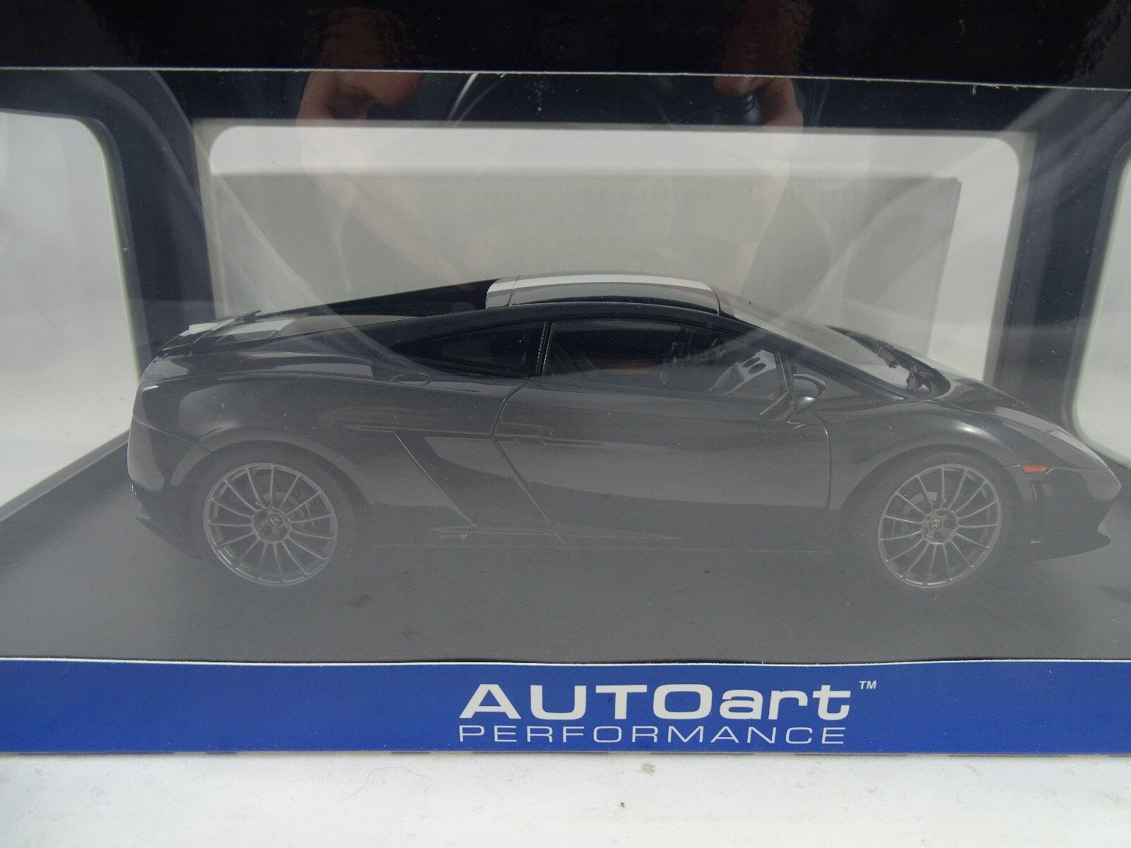 Autoart 74631 Lamborghini Gallardo LP550-2 Vb Balboni Ed. Negro Rareza