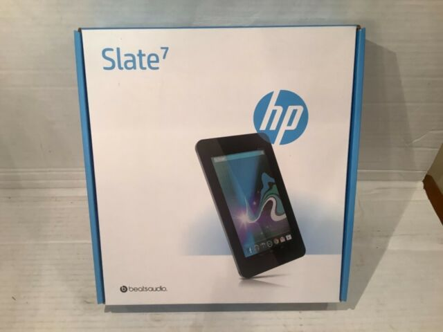 Hp Slate 7 Plus 4200 8gb Wi Fi 7in Silver For Sale Online Ebay