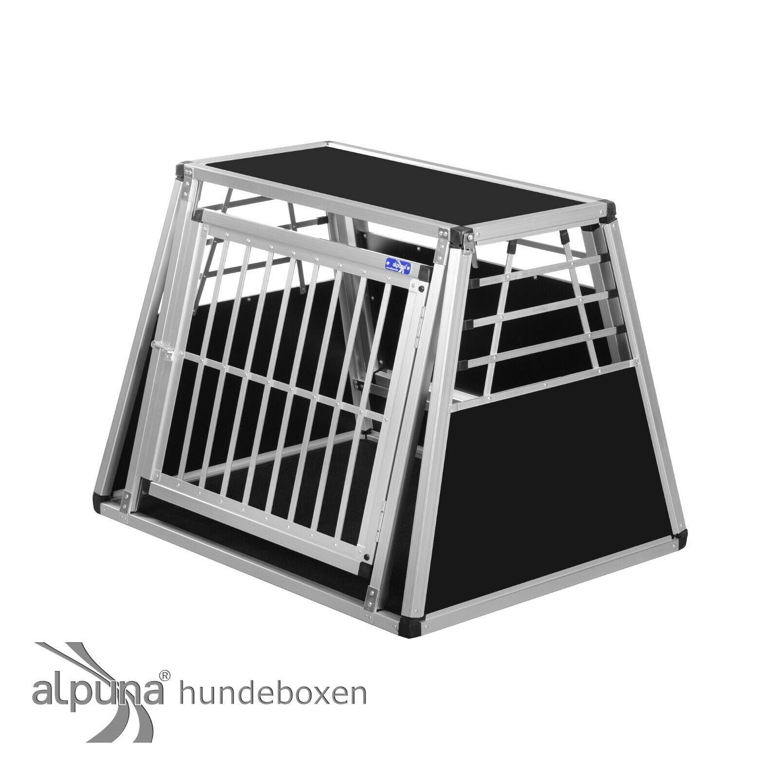 N11 Hundetransportbox Gitterbox Aluminium Transportbox Hundebox Alubox Autobox