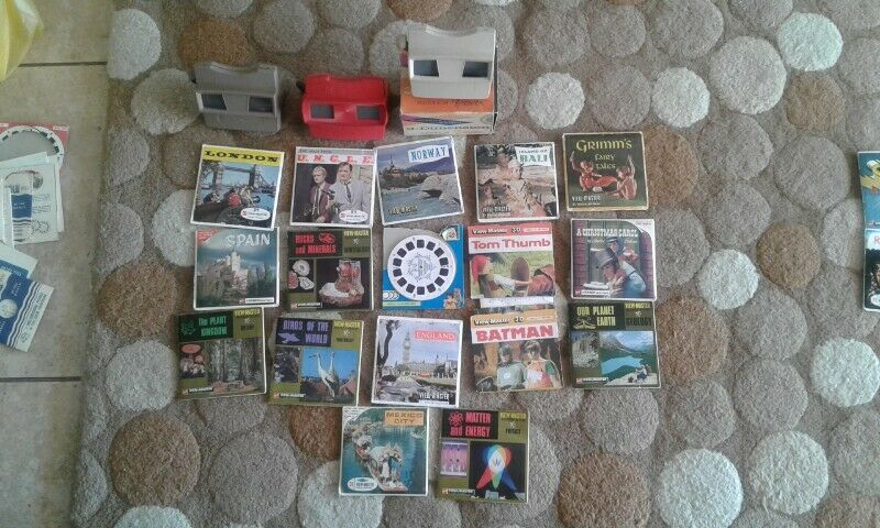 Vintage 3D viewmaster collection priced individually for sale