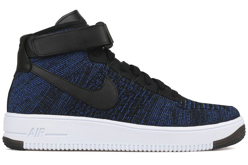 Nike air force 1 ultra flyknit mitte spiel royal af1 uns 8,5 sp 817420-400 niedrig