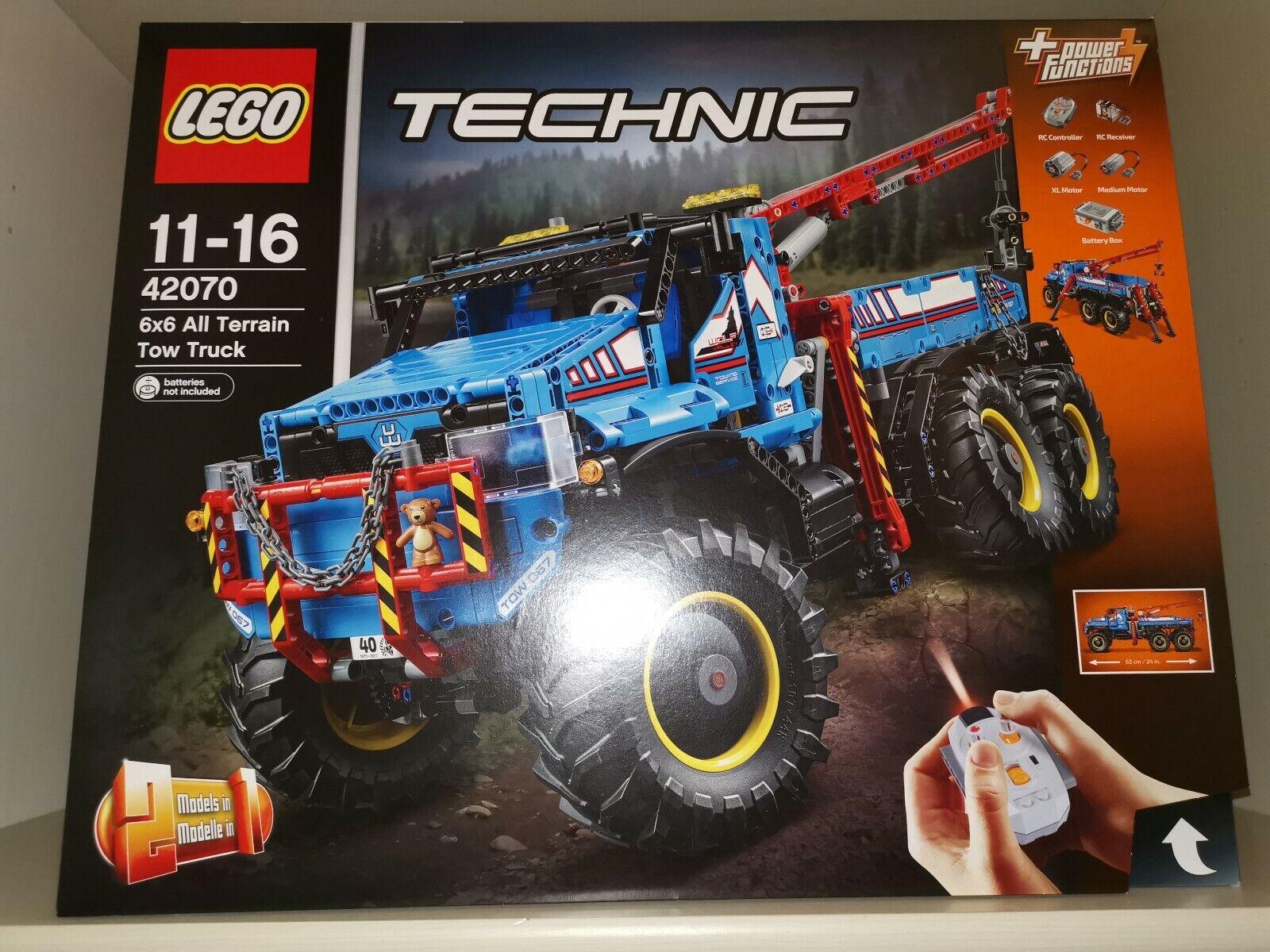 LEGO Technic 42070 - Allrad Abschleppwagen