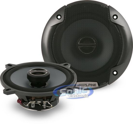 "ALPINE S-S50 5.25/"" CAR AUDIO 340W 2-WAY SILK TWEETERS 5-1//4/""COAXIAL SPEAKERS NEW"