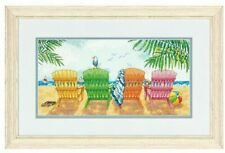 * Dimensions Counted X Stitc h Christmas Beach Chairs D70-08948