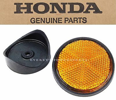 New Genuine Honda Reflector & Fork Base Kit Many Early CB CL 6X1.0MM Thread #Z16