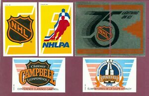 1991-92 PANINI STICKERS & FOIL NHL HOCKEY CARD 1 TO 183 STICKER SEE LIST