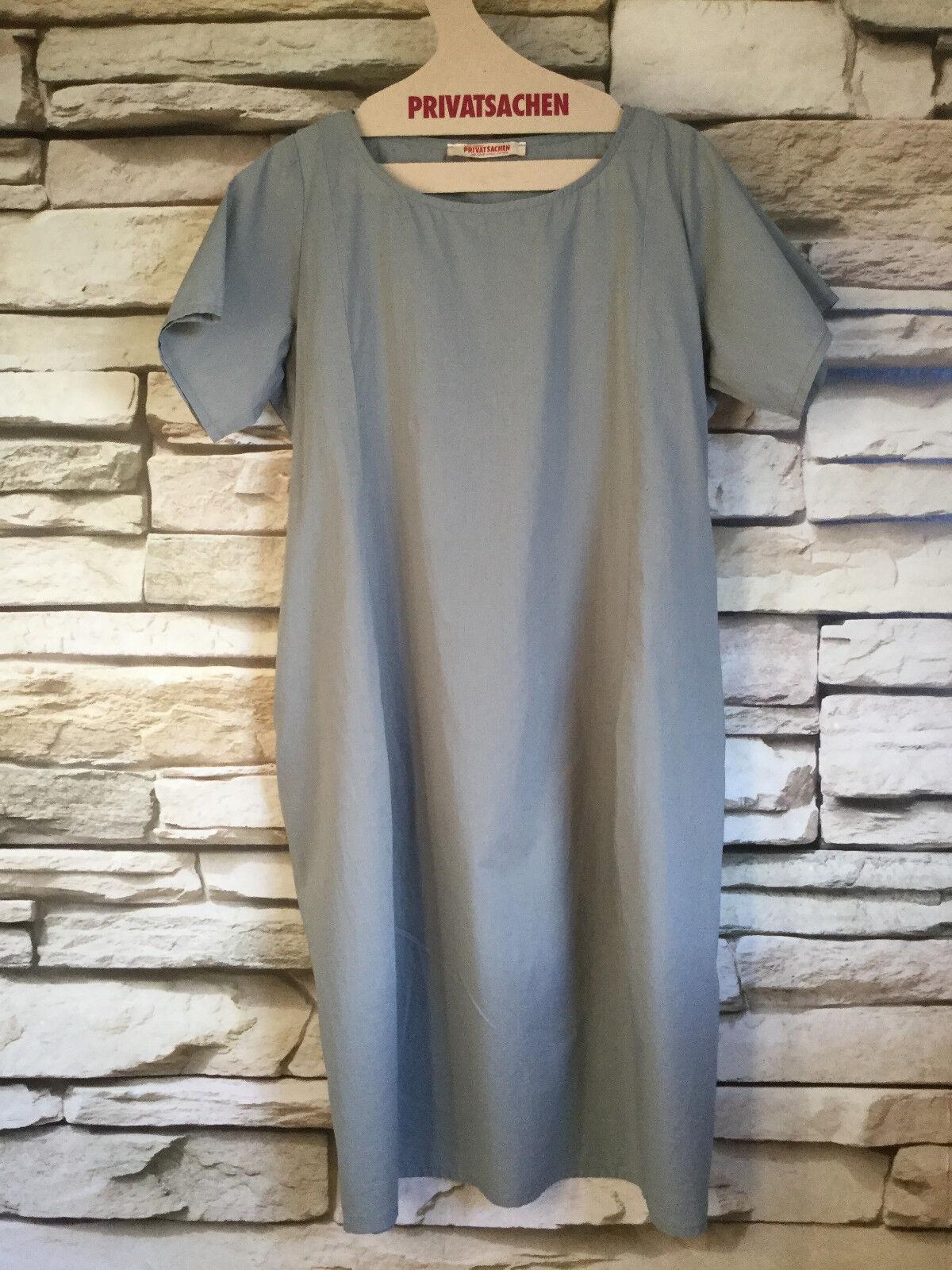 Cocon merz PRIVATSACHEN MEINHERR Kleid aus Baumwolle in grau Gr. 1
