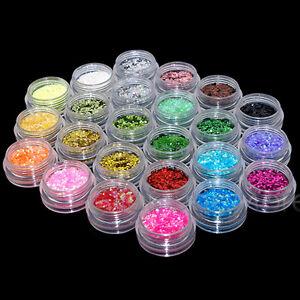 EZI-24-Colours-Sparkling-Glitter-Dust-Powder-Nail-Art-Decoration-1mm