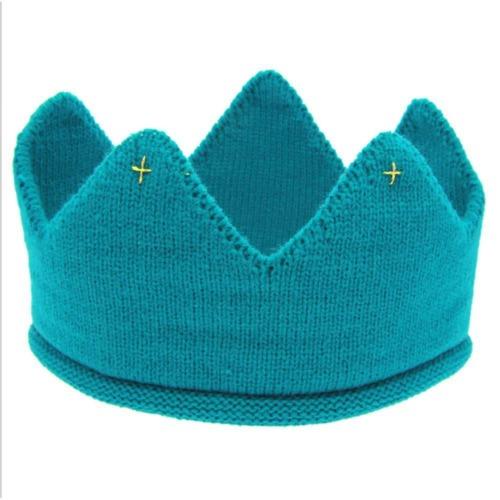 Fashion Laine Fil Soft Cap mignon bébé Couronne Tricot Serre-Tête Chapeau Cheveux Accessoires