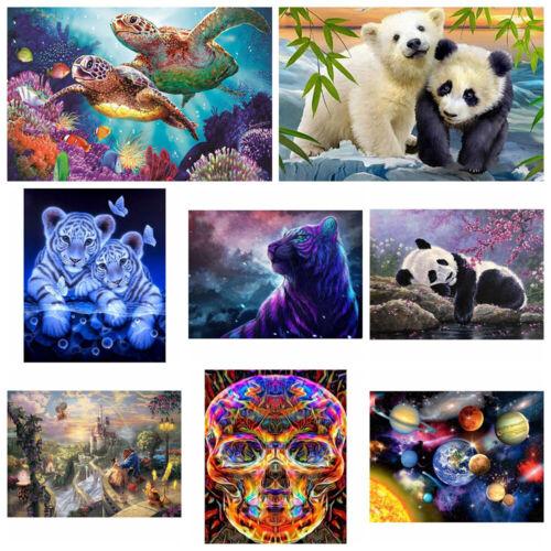 Home Decor DIY Animals Cross Stitch 5D Diamond Painting Full Drill Embroidery