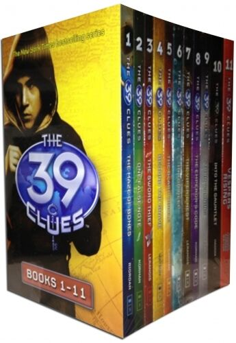 39 Clues Collection 11 Books Set - Access to 66 digital cards