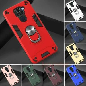 For Xiaomi Redmi Note 9 Pro 9s 8T Mi 9T A3 Magnetic Ring Holder Hard Case Cover