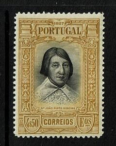 Portugal-SC-436-Mint-Hinged-Hinge-Remnant-Lot-072317
