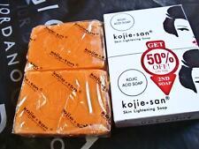 3 X 100% Genuine Kojie San Kojic Acid Soap Skin Lightening Kojiesan Whitening