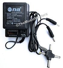 Universal AC to DC Power Supply Wall Plug Adapter 3V 4.5V 6V 7.5V 9V 12V 300mA
