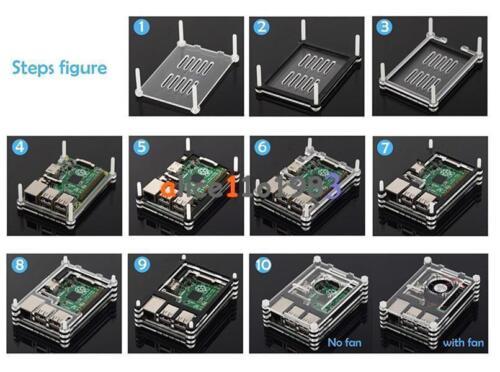 Plastic Enclosure Protective Case for Arduino UNO R3 New Black//Transparent