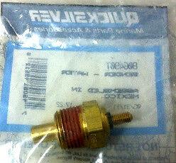 "QUICKSILVER// MerCruiser 3//8/"" Water Temp//Temperature Sender Sending Unit NEW"