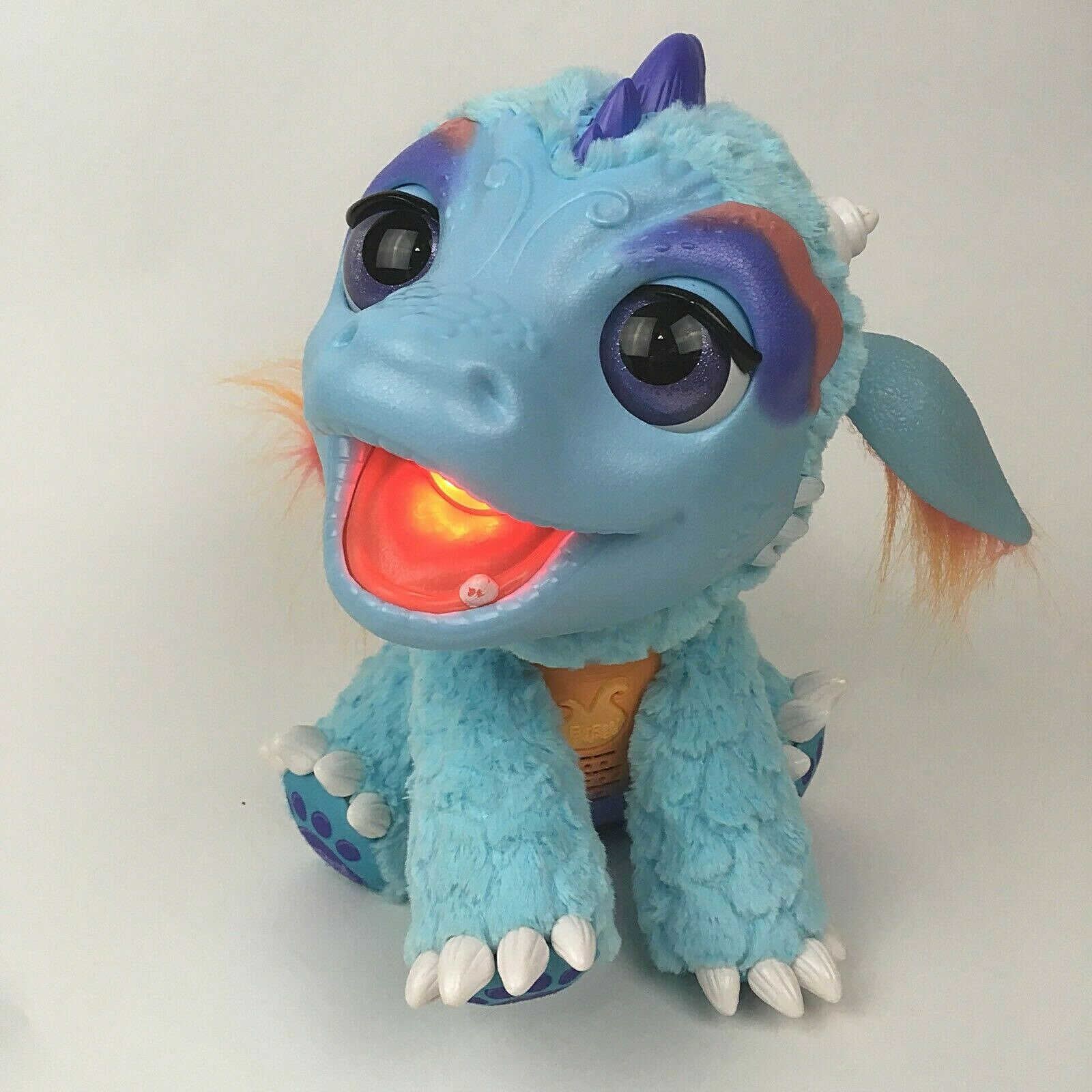 Furreal friends torch my blazin dragon 10  tall Tested and Works