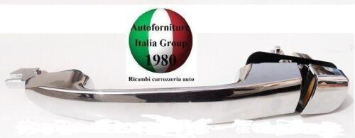 MANIGLIA PORTA ANTERIORE DX EST CROMATA FIAT BRAVO 07/> 5P 2007/>