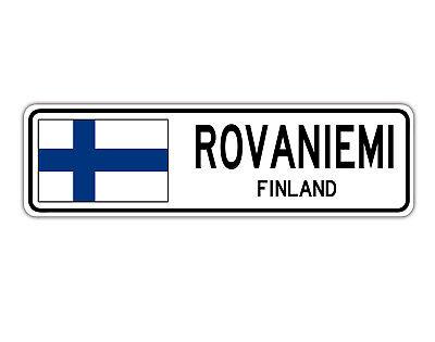 Pori Finland Street Sign Finnish Finn Flag City Country Road Wall Gift