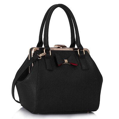 Ladies Patent Designer Celebrity Totes Women's Bow Bags Shoulder Bag Handbags