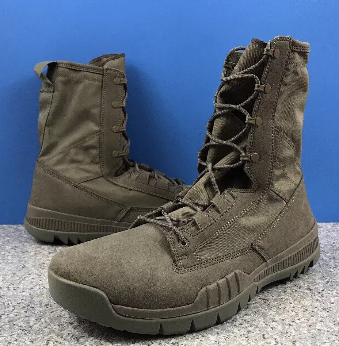 Nike Sfb Field 8  Sz 15 631371-222 Tactical Military Military Military Police Boots Sage 093105