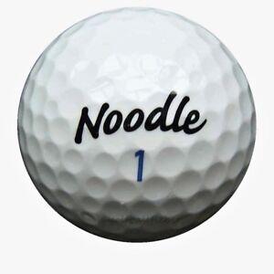 50-TaylorMade-Noodle-Golfbaelle-im-Netzbeutel-AA-AAAA-Lakeballs-used-golf-balls