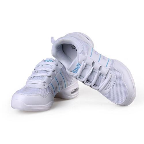 Womens Athletic Sneakers Comfy Modern Jazz Hip Hop Dance Shoes Running Dancewear