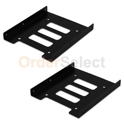 """2.5/"""" SSD HDD to 3.5/"""" Mounting Adapter Bracket Tray Dock for PC SSD Holder PVCA"""