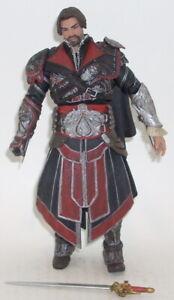 NECA-Assassin-039-s-Creed-Brotherhood-EZIO-Action-Figure-COMPLETE-Toys-R-Us-Exclusiv